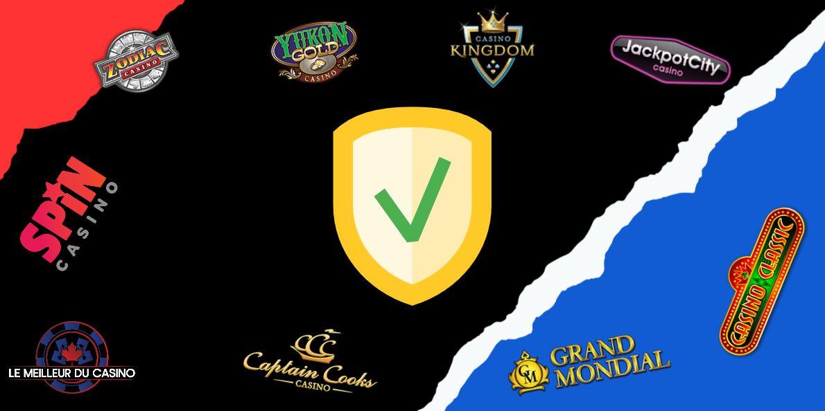 les casinos en ligne les plus fiables au Canada
