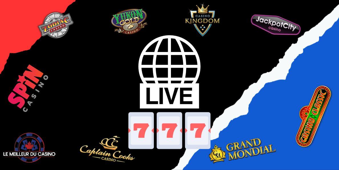 les meilleurs casinos en ligne en direct