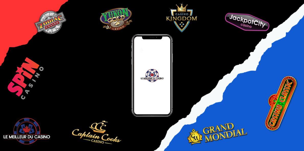 les meilleurs casinos en ligne sur mobile