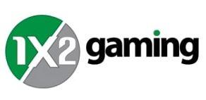 1x2 gaming logo du fournisseur et developpeur de jeux de casinos virtuels