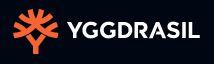 logo de lentreprise creatice de jeux de casinos virtuels YGGDRASIL sur fond noir